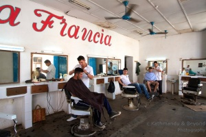 Cuban barbers
