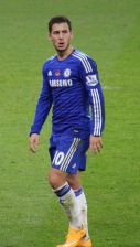 Eden Hazard, Wikimedia Commons image, a database of freely usable media files.  http://commons.wikimedia.org/wiki/