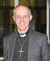 Justin Welby. Photograph snagged from Wikimedia Commons, a database of freely usable media files.  http://commons.wikimedia.org/wiki/