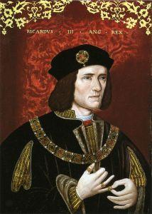 King Richard III of England. Wikimedia Commons image
