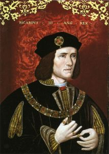 King Richard III of England. Wikimedia Commons image