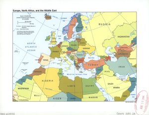 Europe and MENA countries