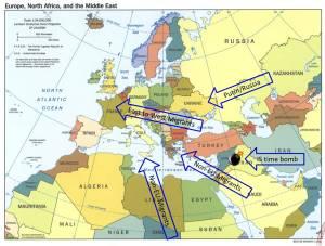 Europe under attack