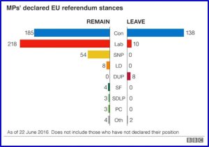 EU Referendum MP Votes