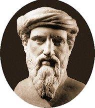 pythagoras-bust